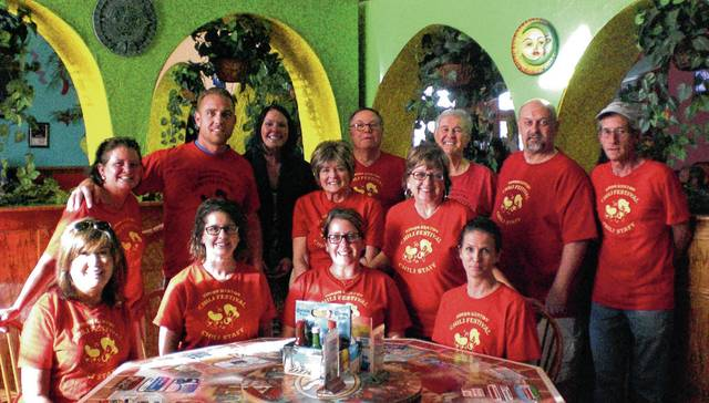 Pictured are (front row - left to right): Sandy Loffing, Amy Armstrong, Carolyn Headlee, Lois Monroe; (standing left to right): Beth Adair, Jeremiah Stocksdale, Audra Bean, Sandy Gonzalez, Bill Bean, Mary Collier, Vince Gonzalez, Mark Hall and Jeff Heiberger.