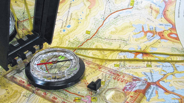 """A good """"Bug out Bag"""" (BOB) always includes a good compass and maps."""